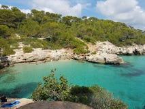 Menorca! Verborgen Paradijs! stock afbeeldingen