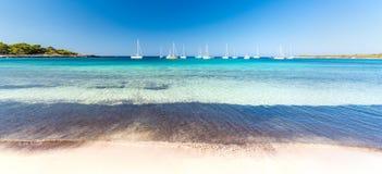Menorcazeegezicht royalty-vrije stock afbeelding