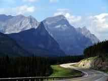 Menos da estrada viajada - cor Fotografia de Stock