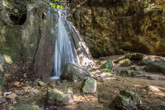 Menotre waterfall in Umbria Royalty Free Stock Images