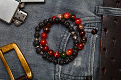 Mens accessories and clothing Stock Photos
