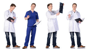 Mens artsengroep Stock Foto