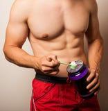 Men athletic torso Stock Image