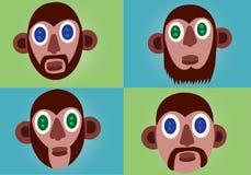 Mens beard styles 1 Royalty Free Stock Photos