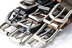 Mens Belts Stock Photos