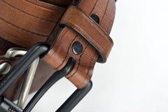 Mens Belts Royalty Free Stock Photo
