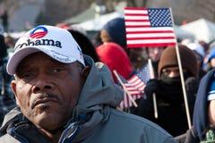 Mens bij Inauguratie stock foto's
