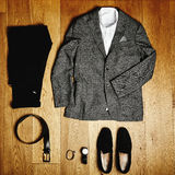 Mens clothes and accessories Royalty Free Stock Photo