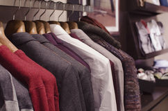 Mens clothing Royalty Free Stock Photos