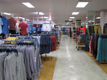 Mens clothing store. Stock Images