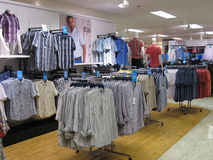 Mens clothing store. Stock Image