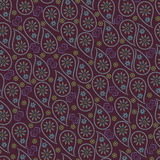 Mens design.Paisley fabric seamless pattern.Orient Royalty Free Stock Photo
