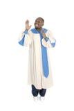 Mens die 2 aanbidt Stock Foto's