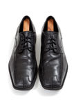 Mens' dress shoes on a whte background Stock Photography