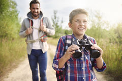 Mens expedition Royalty Free Stock Image