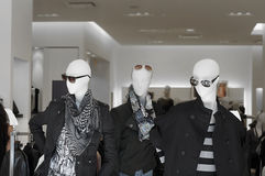 Mens fashion mannequins Royalty Free Stock Image