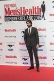 Men's-Gesundheits-Mann der Preise des Jahr-2015 in Madrid, Spanien Lizenzfreie Stockfotos