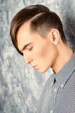 Mens hairdresser Stock Image