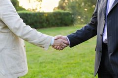 Mens handshake Royalty Free Stock Images