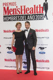 Men's Health Man of the Year 2015 Awards in Madrid, Spain Royalty Free Stock Photos