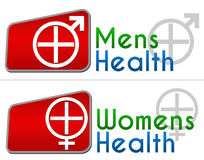 Mens Health Womens Health Royalty Free Stock Images