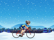Mens het biking vector illustratie