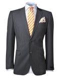 Mens jacket isolated on white Royalty Free Stock Image