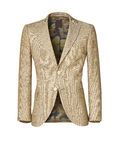 Mens jacket isolated on white with clipping path stock images