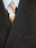 Mens jacket shirt and tie Royalty Free Stock Photos