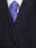 Mens jacket shirt and tie Stock Image