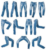 Mens jeans Royalty Free Stock Photo