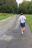 Mens jogging_7853-1S Royalty-vrije Stock Afbeeldingen