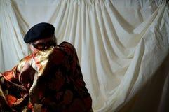 Mens in kimono Royalty-vrije Stock Afbeelding
