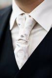 mens krawata ślub Fotografia Stock