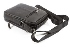 Mens leather bag Royalty Free Stock Images