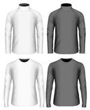 Mens long sleeve t-shirt and sweater Royalty Free Stock Photos
