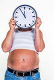 Mens met overgewicht Royalty-vrije Stock Fotografie