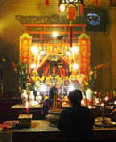 Mens Mo Temple in Bleke Sheung, Hong Kong Stock Afbeelding
