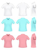 Mens polo t-shirts Royalty Free Stock Image