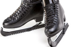 Mens Professional Figure Skates Stock Images