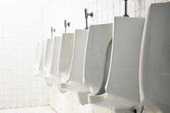 Mens public toilet Stock Photography