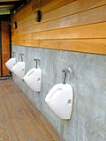 Mens public toilet Stock Image