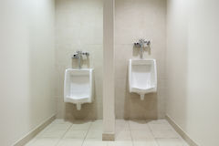 Mens Restroom - Urinals Royalty Free Stock Photography