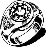 Mens Ring Royalty Free Stock Photo