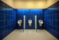 Mens room interior Royalty Free Stock Photos