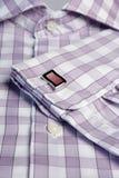 Men�s shirt with cufflinks Royalty Free Stock Photos