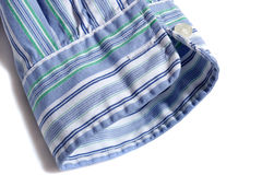 Mens shirt sleeve Royalty Free Stock Photo