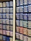 Mens Shirts in Shop Display Royalty Free Stock Images