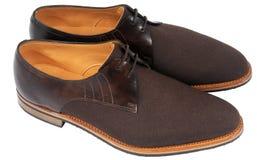 Mens shoes. Men's shoes, for fashion magazine etc Stock Images