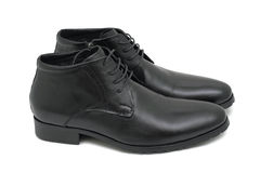 Mens shoes, isolated Stock Photo